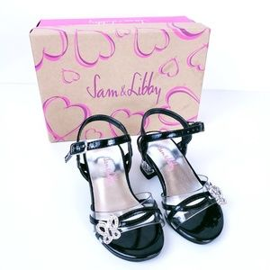 Sam & Libby Girl Toddler Strappy Heels Size 5